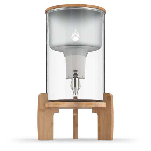 pH RECHARGE (Glass) Countertop Alkaline Water Filter