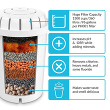 Load image into Gallery viewer, PH001 Alkaline Water Filter Cartridge