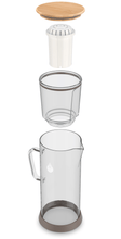 Load image into Gallery viewer, pH RESTORE (Glass) Alkaline Water Pitcher parts