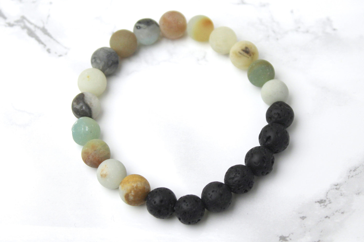 Self-love & Honor II Lava Diffuser Bracelet