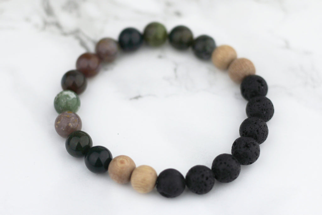 Happiness Lava Diffuser Bracelet