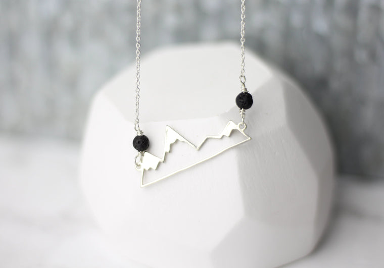 Constancy Mountains Lava Necklace