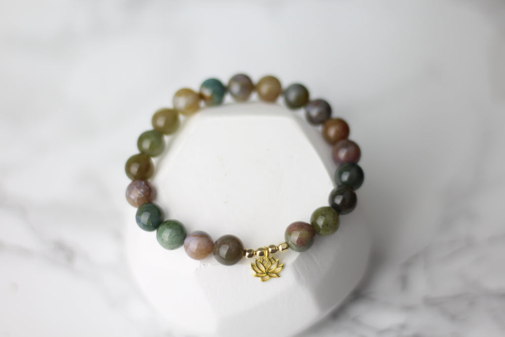 No Mud No Lotus Wrist Mala