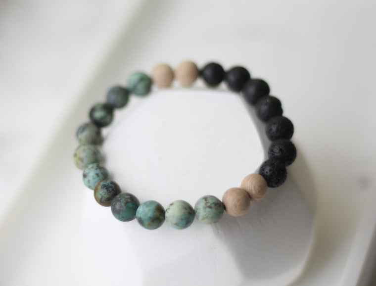 Beautiful Change Lava Diffuser Bracelet