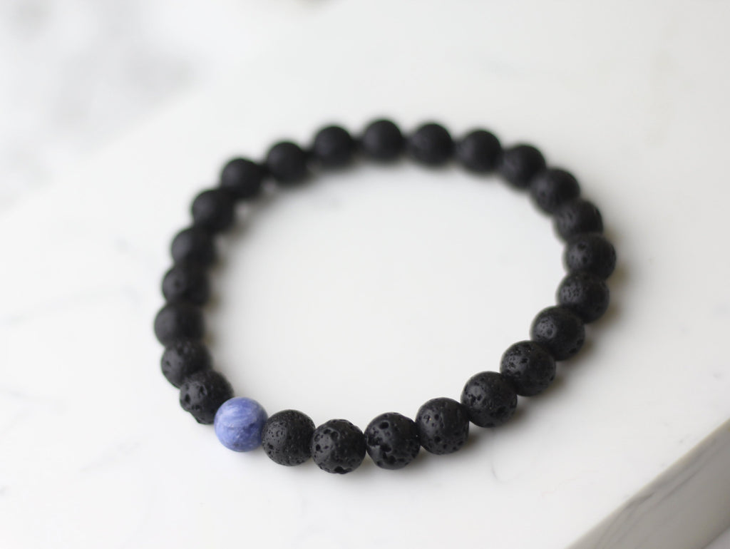 Men Truth Lava Diffuser Bracelet