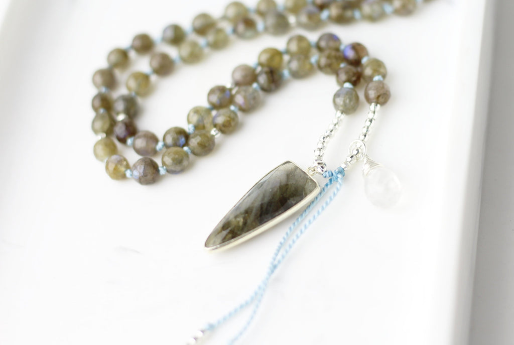 Powerful Change Mala Necklace