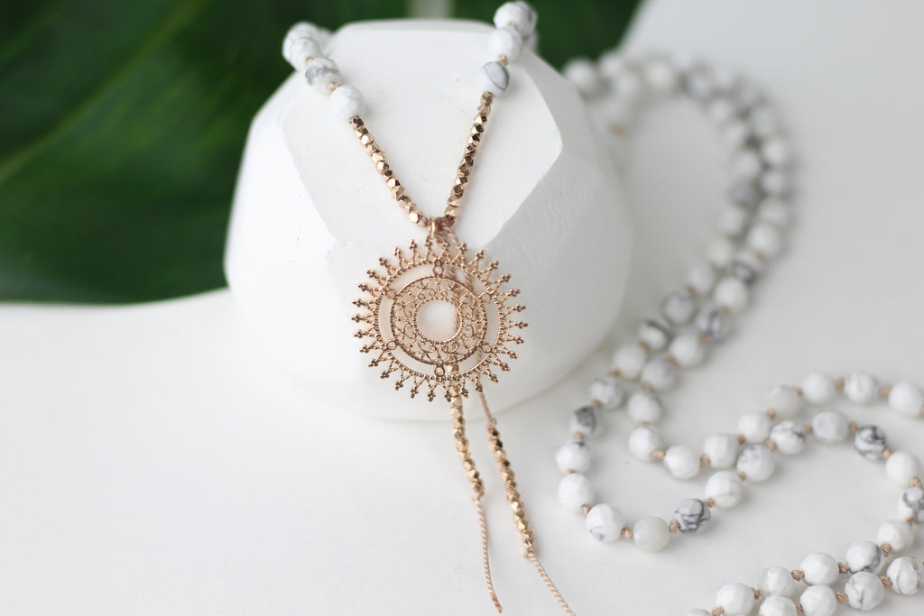 Beautiful Mind Mala Necklace