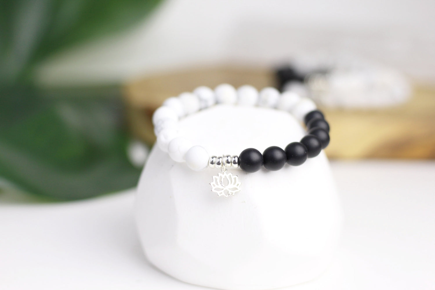 Strength Black Onyx Wrist Mala