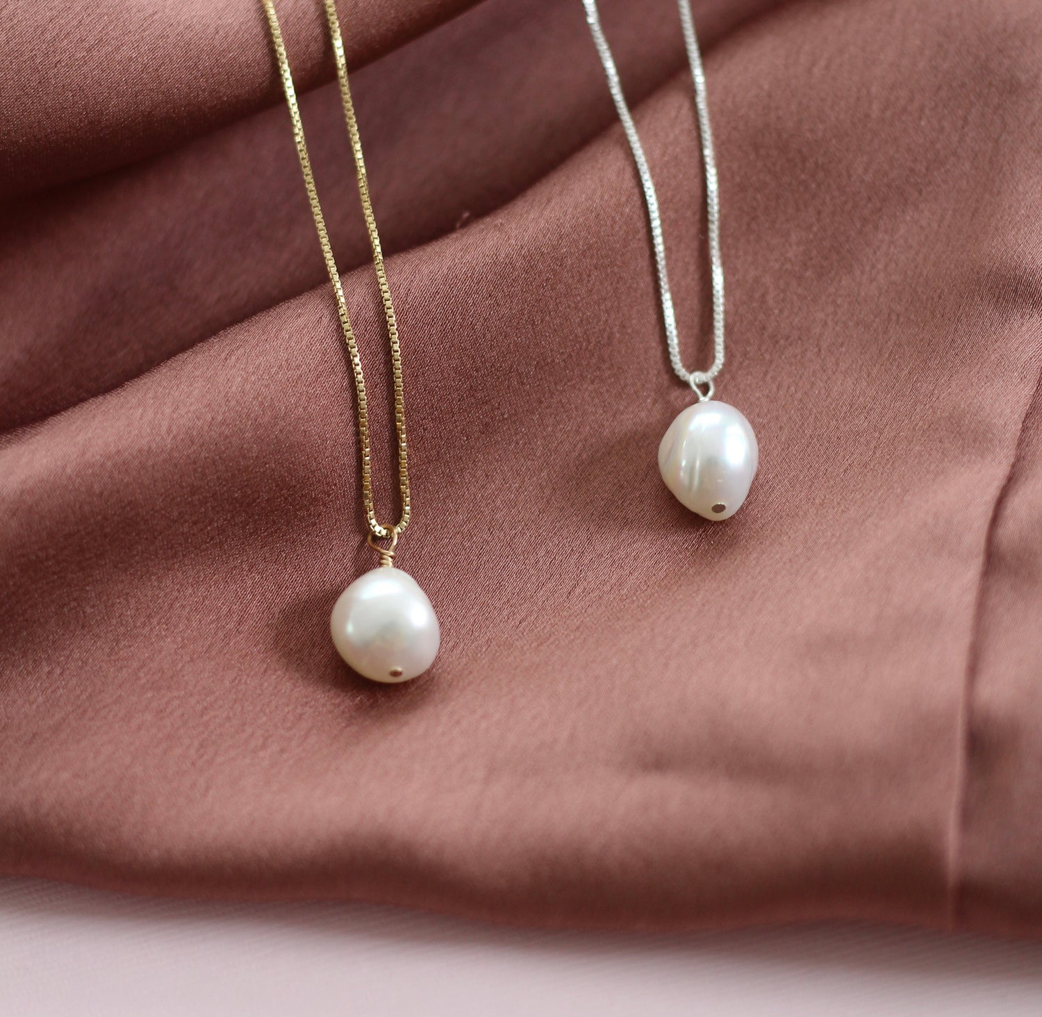 Protection Baroque Pearl Necklace
