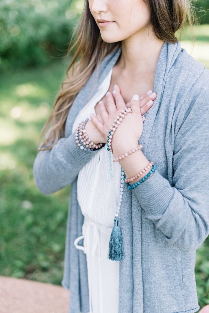 Goals Achievement Mala Necklace