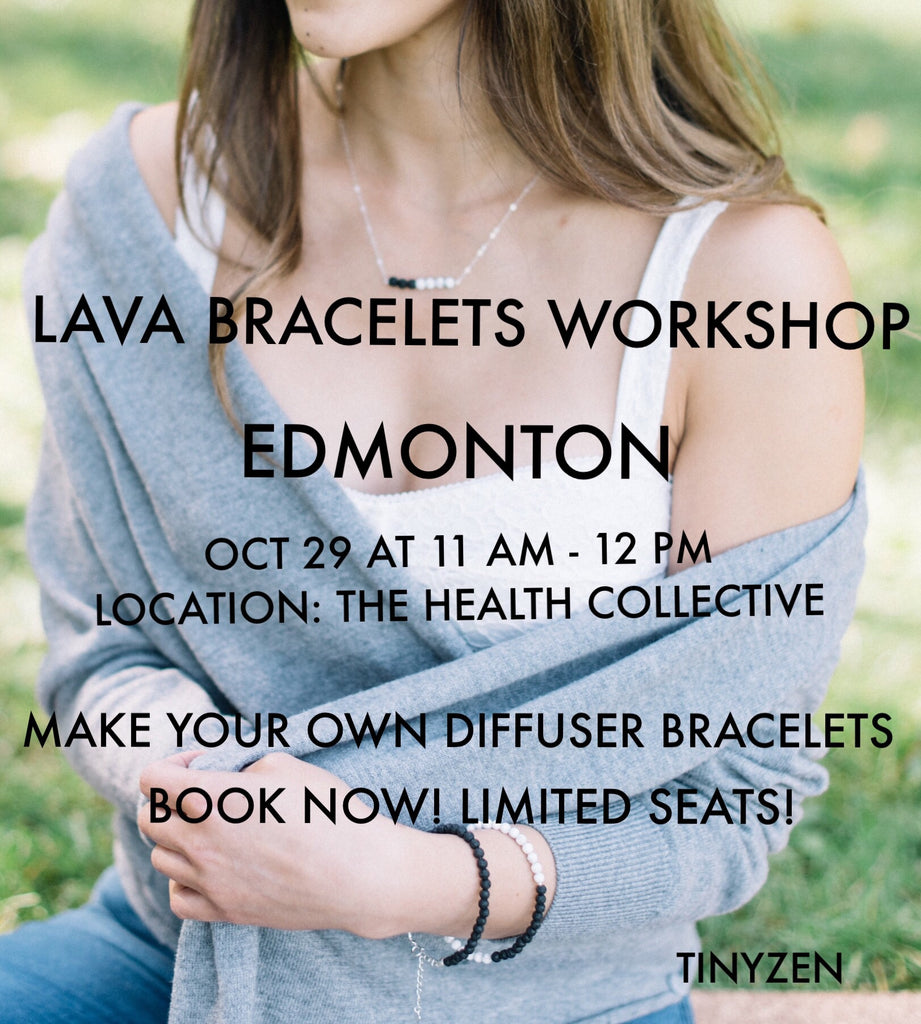 The Health Collective Oct 29 11AM - Edmonton Lava Bracelets Workshop