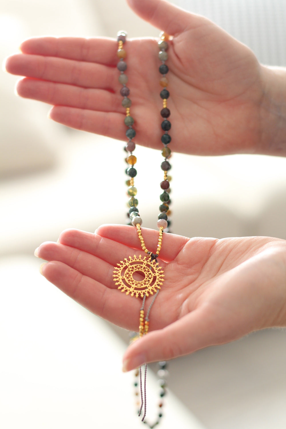 Powerful Healing Mala Necklace