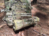 High Range Outdoors Multicam Backpack with Paracord Accessory Kit Coyote Brown Loops