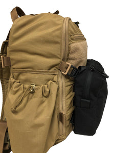High Range Outdoors Australian Made Loady Pouch black Zulu backpack side Beaver Tail molle for hunting