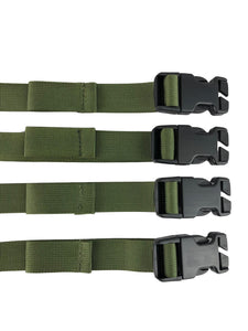 Four adapter straps