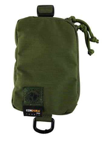 Small pack pouch with Cordura tag and D ring