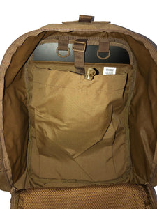 High Range Outdoors Zulu 20 Clamshell Day Pack Coyote Brown Hydration Sleeve