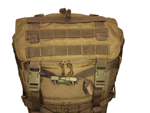 High Range Outdoors SR25 Coyote Brown Front Lid Australian Backpack