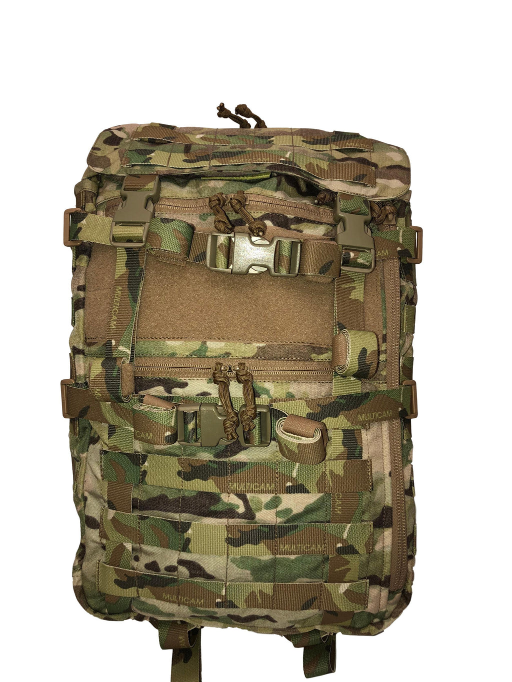 High Range Outdoors SR25 Multicam Tactical Backpack Front
