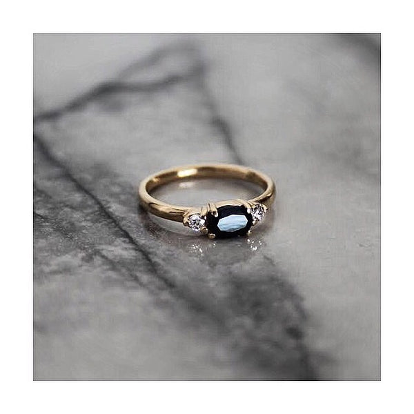 Indie Sapphire Ring