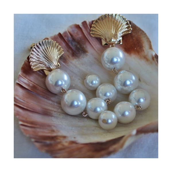 Selina Pearl Drop Earrings