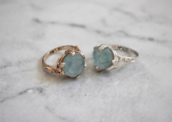 Ivy Ring - Aquamarine