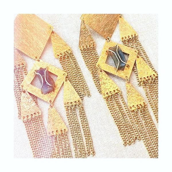 Tabitha Earrings - Gold
