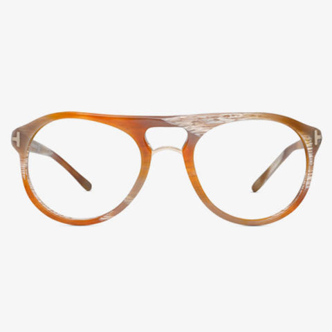 Tom Ford TF5007 Brown - Semi-Rimless - ap-michael