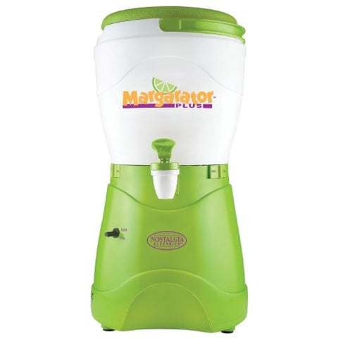 Nostalgia MSB600 1-Gallon Margarator Plus Margarita & Slush Maker - Tropically Inclined