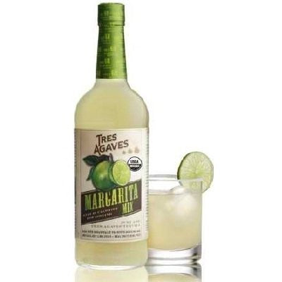 Tres Agaves Organic Margarita Mix, 33.8 oz - Tropically Inclined
