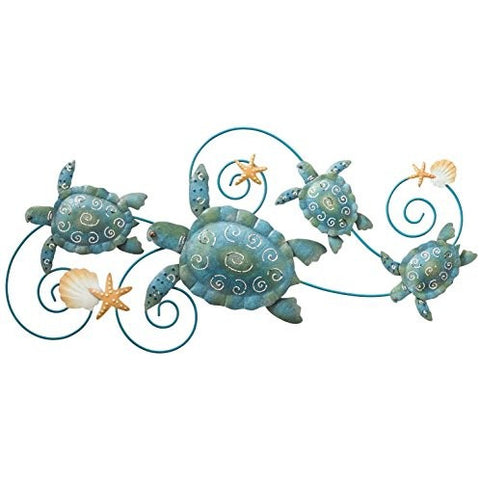 "Regal Art &Gift Sea Turtle Wall Decor, 31"" - Tropically Inclined"