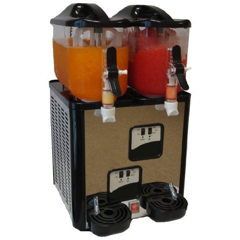 Margarita Girl Double-Bowl Mini Size Margarita Slush Frozen Drink Machine - Tropically Inclined
