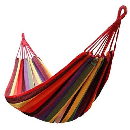 Honesh Outdoor Leisure Double 2 Person Cotton Hammocks 450lbs Ultralight Camping Hammock - Tropically Inclined