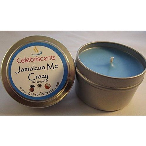 Jamaican Me Crazy Coconut, Pineapples, Kiwi Tropical Soy Scented Candle
