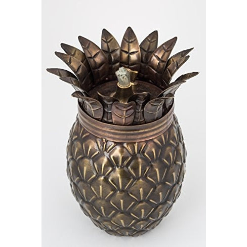 Pineapple Tabletop Torch / Oil Lamp - Tropically Inclined