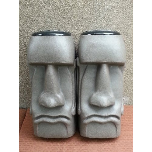 Sm. Easter Island Moai Outdoor Speaker System (Brazillian) Color - Tropically Inclined