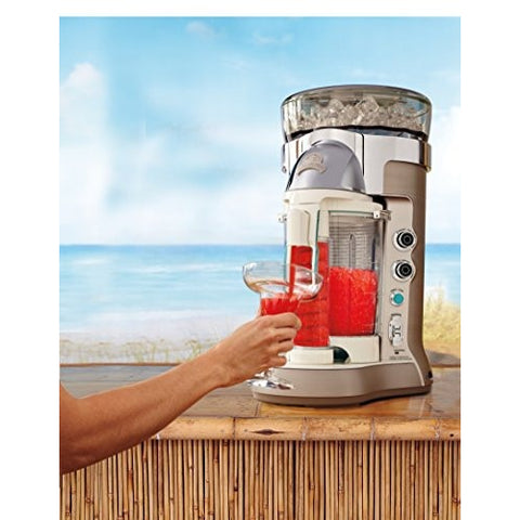 Margaritaville Bali Frozen Concoction Maker with Self-Dispensing Lever and Auto Remix Channel, DM3500 - Tropically Inclined
