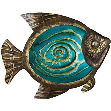 Regal Art &Gift Bronze Fish Wall Decor, 17-Inch - Tropically Inclined