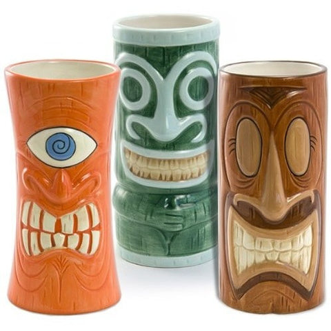 Portrait Tiki Mugs Set - Tropically Inclined