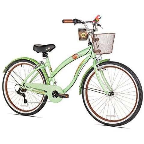Margaritaville Coast Is Clear Women's Beach Cruiser Bike, 26-Inch - Tropically Inclined