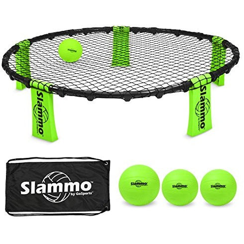 GoSports Slammo Game Set (Includes 3 Balls, Carrying Case and Rules) - Tropically Inclined