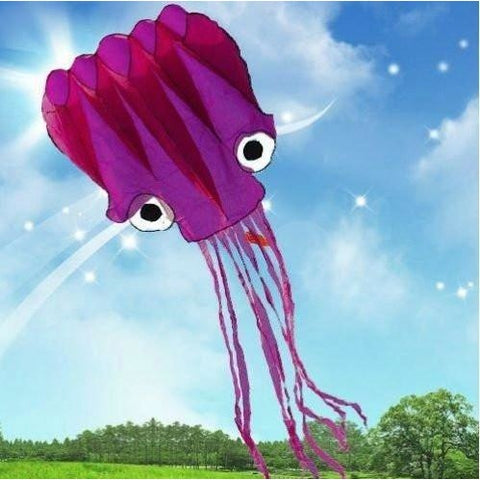 5M Large Octopus Parafoil Kite with Handle & String by Amazona's presentz - Tropically Inclined
