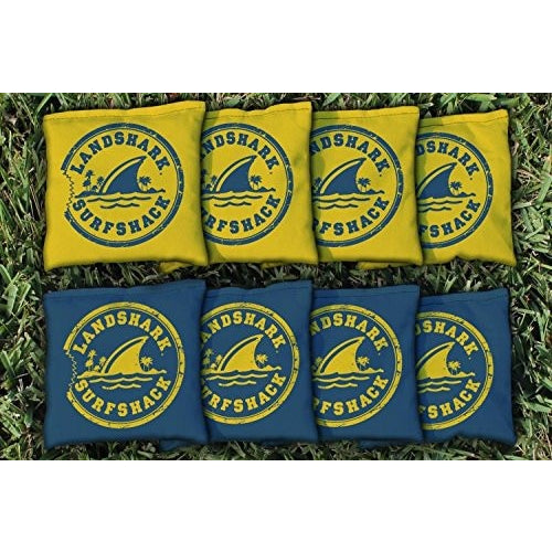 Margaritaville Landshark Replacement Cornhole Bag Set (all-weather) - Tropically Inclined
