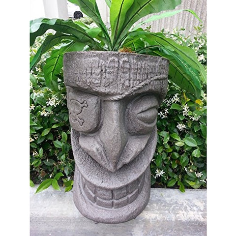 Pirate Tiki Planter (Brazillian) - Tropically Inclined
