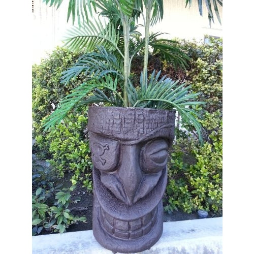 Lg. Pirate Tiki Planter - Tropically Inclined