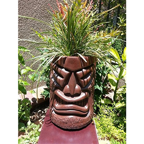 Angry Tiki Planter (Chocolate) - Tropically Inclined