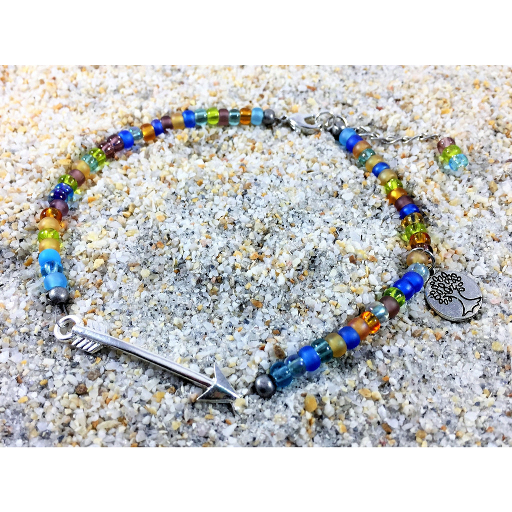 Boho Ankle Bracelet - Tropically Inclined