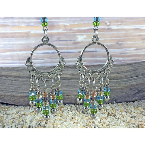 Sand & Sea Chandelier Earrings - Tropically Inclined
