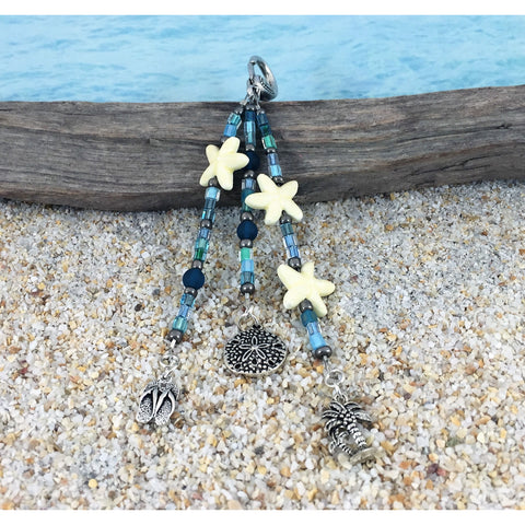 Beach Bag Charms - Beach Glass Mix - Tropically Inclined