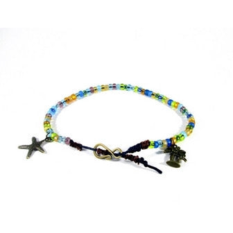 Sea Spray Ankle Bracelet - Tropically Inclined
